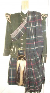 scottish kilt & jacket